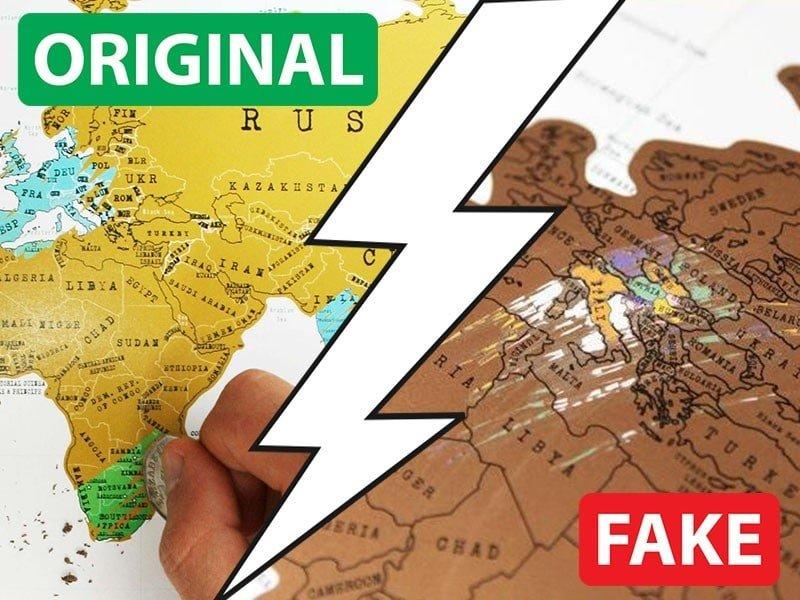 Скреч Карти - Разлики Между Оригиналната и Фалшивата